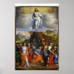 L'ascension de Jésus Posters