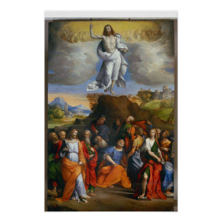 L'ascension de Jésus Posters