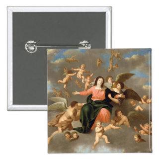L'ascension de la Vierge Badge