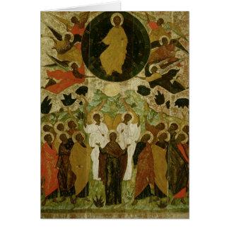 L'ascension de notre seigneur carte de vœux