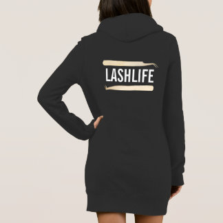 LASHLIFE Hoody Robe