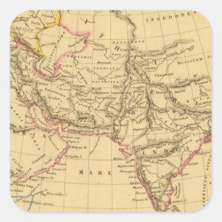 L'Asie antique Sticker Carré