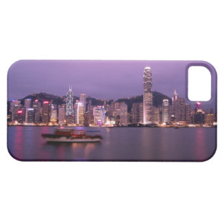 L'Asie, Chine, Hong Kong, horizon de ville et Coque Barely There iPhone 5