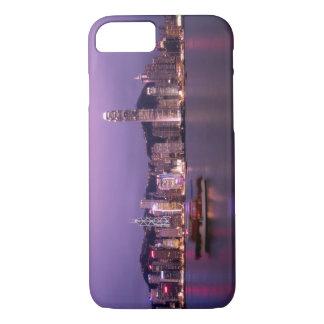 L'Asie, Chine, Hong Kong, horizon de ville et Coque iPhone 7