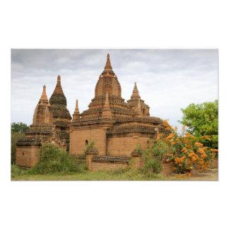 L'Asie, le Myanmar Birmanie), païen de Bagan). Div Photographe