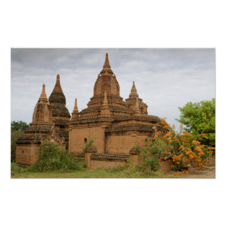 L'Asie, le Myanmar Birmanie), païen de Bagan). Div Posters