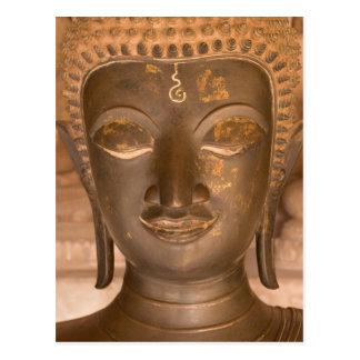 L'Asie, les Laotiens, Vientiane, sculpture en Carte Postale