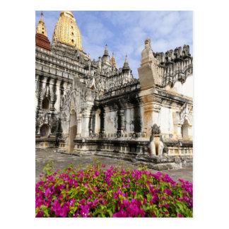 L'Asie, Myanmar (Birmanie), Bagan (païen). Carte Postale