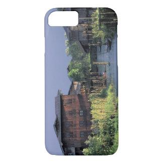 L'Asie, Myanmar, lac Inle. Un village de Coque iPhone 7