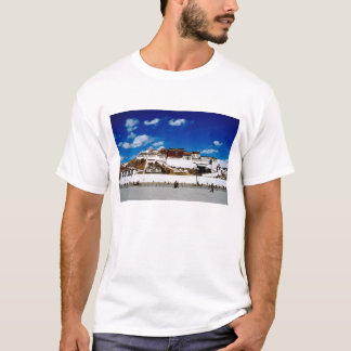 L'Asie, Thibet, Lhasa, le Palais du Potala. UNECSO T-shirt