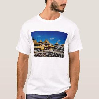 L'Asie, Thibet, Lhasa, rouge du Palais du Potala T-shirt