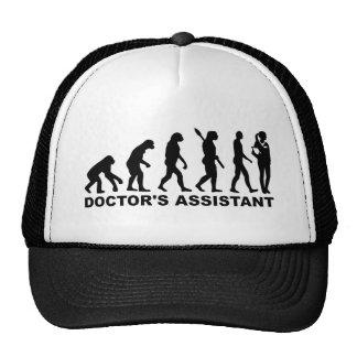 L'assistant du docteur d'évolution casquettes de camionneur