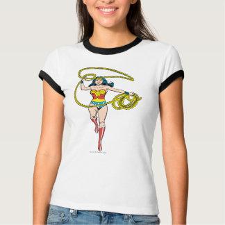 Lasso de femme de merveille aérien t-shirt