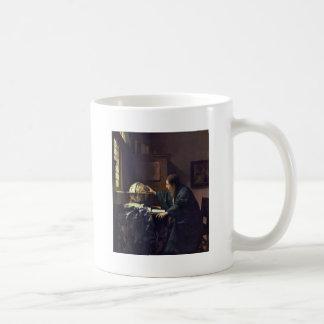L'astronome par Johannes Vermeer Tasse