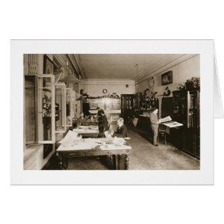 L'atelier de Faberge (photo de b/w) Carte De Vœux