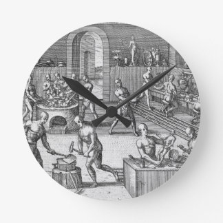 atelier horloges atelier horloges murales. Black Bedroom Furniture Sets. Home Design Ideas