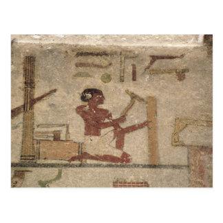 L'atelier du charpentier carte postale