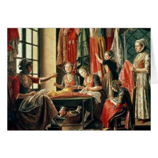 L'atelier du couturier, Arles, 1760 Cartes