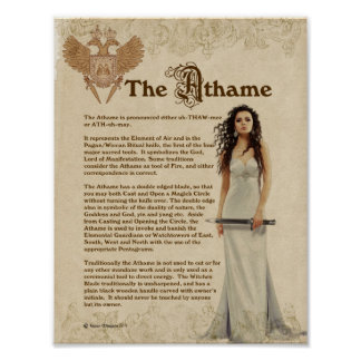 L'ATHAME POSTER