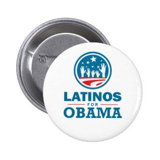 Latino pour Obama Badges