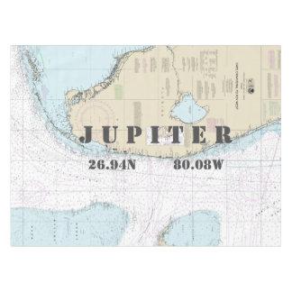 Latitude nautique Jupiter FL de longitude Nappe