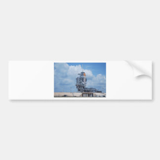 L'Atlantide sur la plate-forme de lancement Autocollant De Voiture