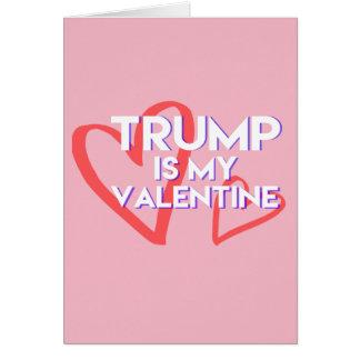 L'atout de carte de Valentine d'atout est mon