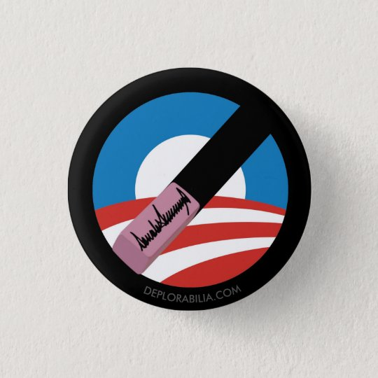 L'atout efface Obama Badge