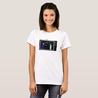 L'atout met le feu à Madame Liberty Shirt, femmes T-shirt