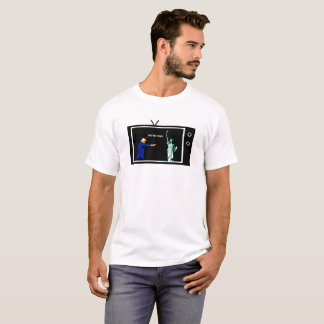 L'atout met le feu à Madame Liberty Shirt T-shirt