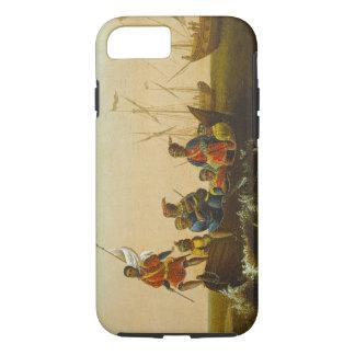 L'atterrissage de Columbus, c.1837 (huile sur la Coque iPhone 7