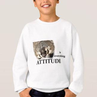 L'attitude est tout sweatshirt