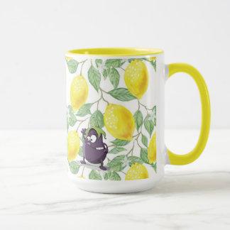 L'aubergine a perdu dans un citronnier la tasse