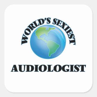 L'audiologiste le plus sexy du monde sticker carré