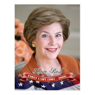 Laura Bush, première Madame des États-Unis Cartes Postales
