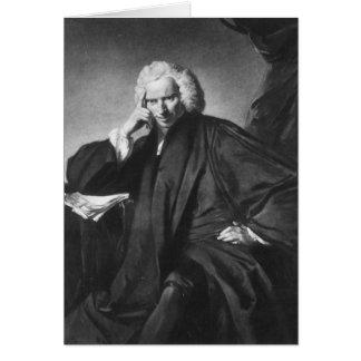 Laurence Sterne, gravé par Edouard Fisher Carte De Vœux
