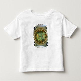 L'aurore, plafond peignant probablement de la t-shirt pour les tous petits