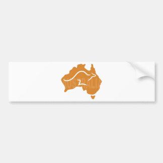L'Australie Autocollant Pour Voiture
