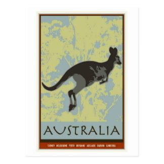 L'Australie Carte Postale