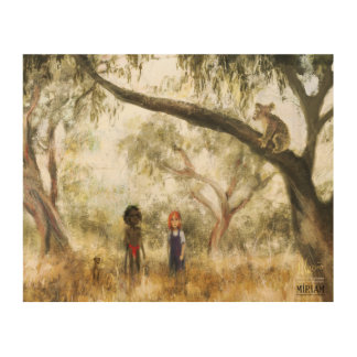 L'Australie Impression Sur Bois