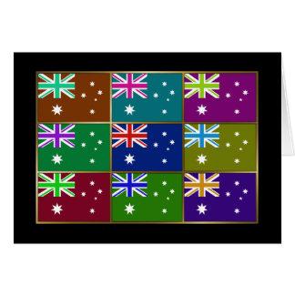 L'Australie Multihue marque la carte de voeux