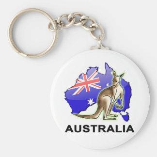 L'Australie Porte-clé Rond