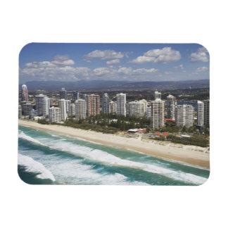 L'Australie, Queensland, la Gold Coast, plage prin Magnets En Rectangle