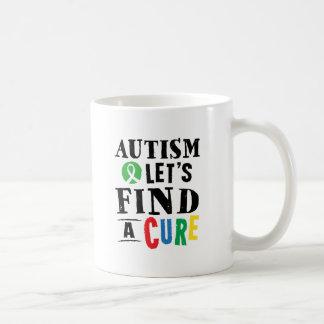 L'autisme laisse trouver une tasse de conscience
