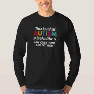 L'autisme regarde le goût t-shirt