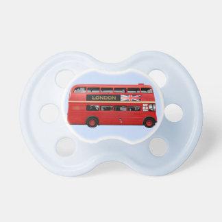 L'autobus de rouge de Londres Sucette Pour Bébé
