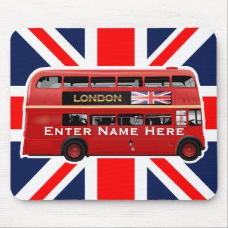 L'autobus de rouge de Londres Tapis De Souris