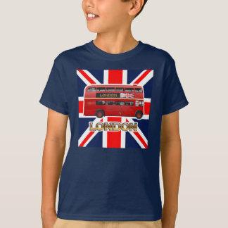 L'autobus rouge de Londres d'autobus à impériale T-shirt