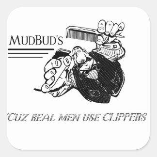 L'autocollant de MudBud Sticker Carré