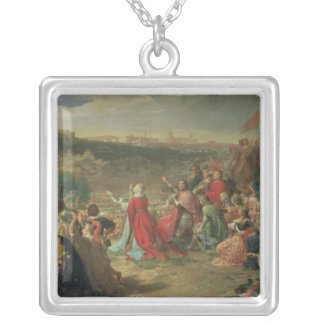 L'automne de Grenade en 1492, 1890 Pendentif Carré